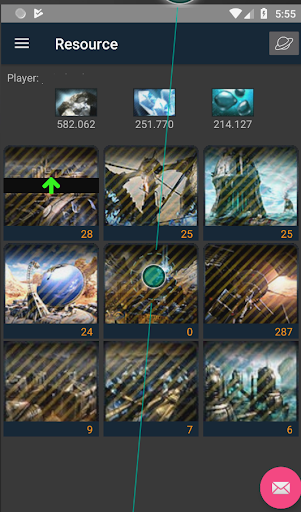 Ogame Client for android (UnOfficial)(developing) screenshots 3