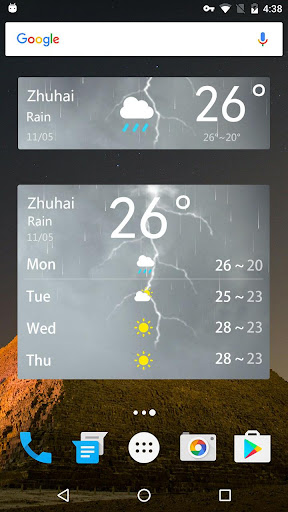 Simple Weather Forecast  screenshots 5