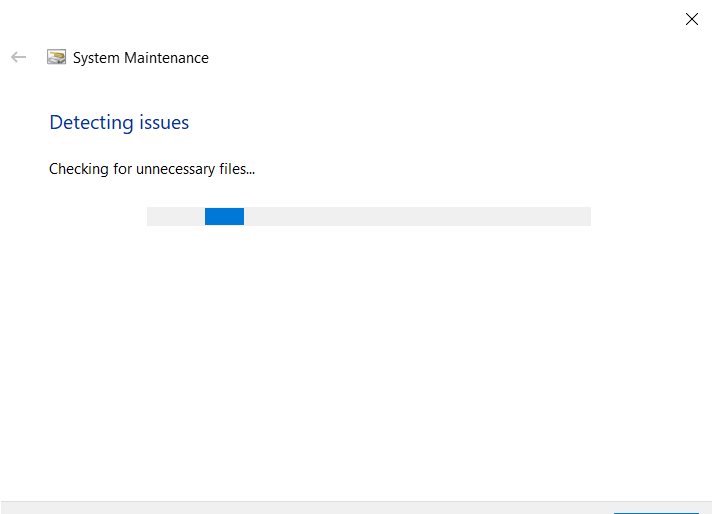 System Maintenance window