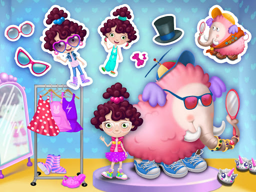 Miau2019s Secret Pet - Fluffy Pink Elephant Care 1.0.109 screenshots 9