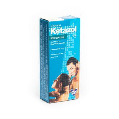 champu ketazol 2% 60ml