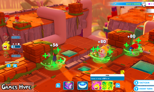 Guide for mario rabbids kingdom battle - náhled