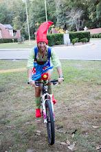Photo: Allison in costume!