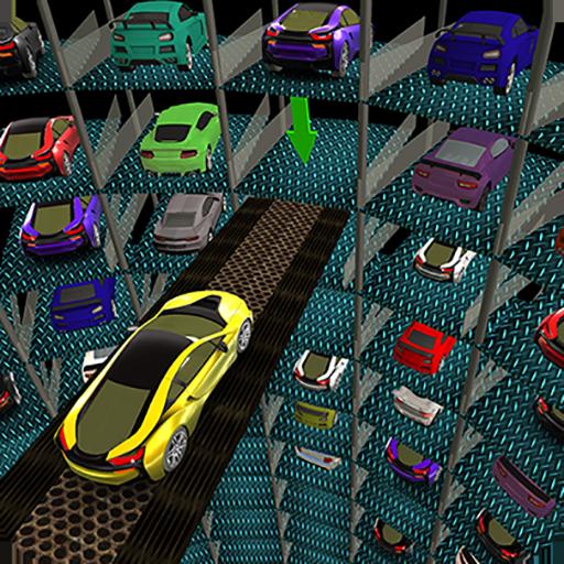 Multi-Level Underground Car Parking Driving School (game)