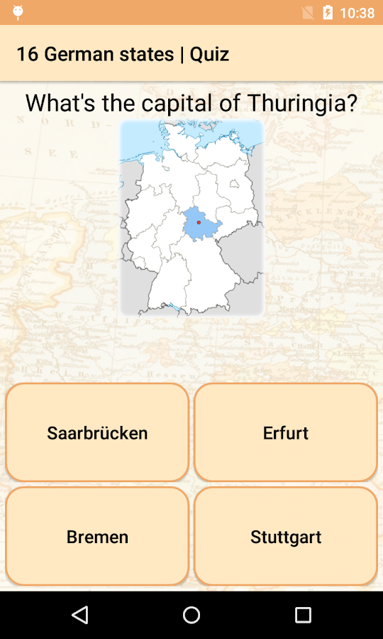 Federal states of Germany HD- screenshot