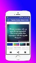 Hugottagalog Pinoy Bisaya Quotes Maker 2018 114 Latest Apk