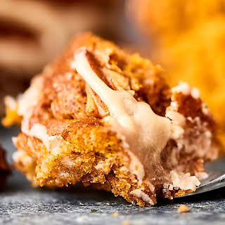 Easy Pumpkin Coffee Cake.