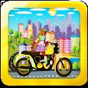 motorcycle flora winx racing icon
