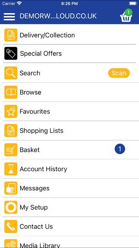 Restaurant Wholesale screenshot 2