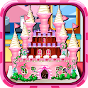 Princess Castle Cake Cooking