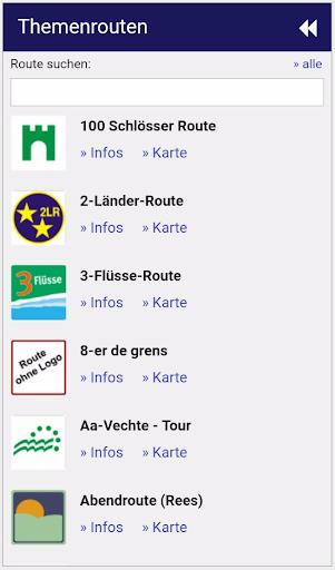 Radroutenplaner NRW mobil  screenshots 5