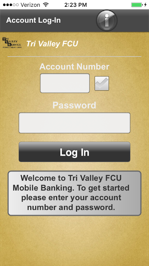 Tri Valley Service FCU- screenshot