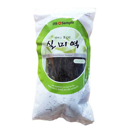 Dried Brown Seaweed (Wakame) 100g Sempio