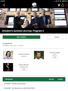 Boston Symphony Orchestra For Tablet- screenshot thumbnail