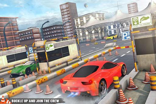 Prado luxury Car Parking Games 2.0 screenshots 9