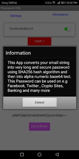 Password 256 -Pro  screenshots 2