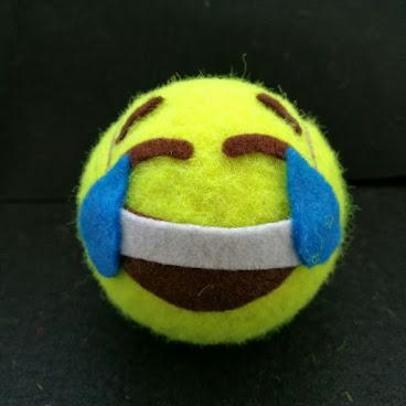 開心網球磁石 Happy Tennis Magnet