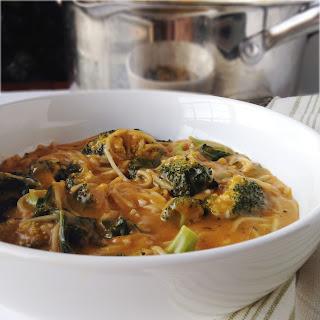 Power Greens Noodle Soup