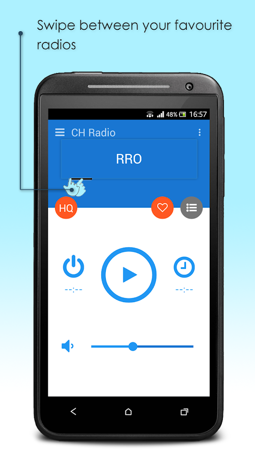 CH Radio- screenshot