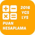 YGS LYS PUAN HESAPLAMA 2016 icon