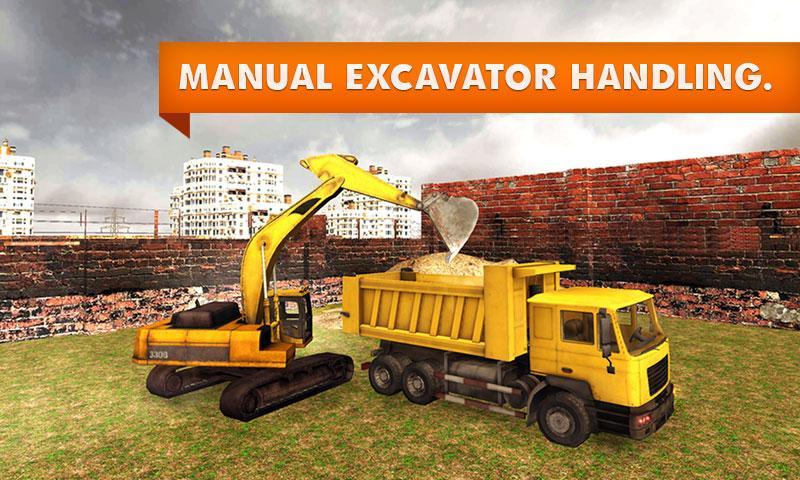 Sand-Excavator-Truck-Simulator 23