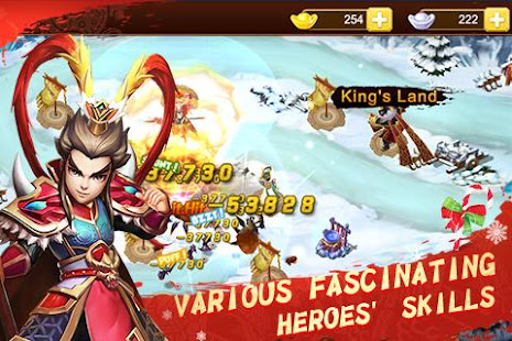 Mod Game Defense of Three Kingdoms for Android