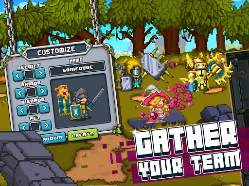 Bit Heroes: An 8-Bit Pixel RPG Quest apkpoly screenshots 8