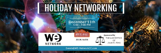 WE Network Event | December 11, 2018 | 5 - 7 PM