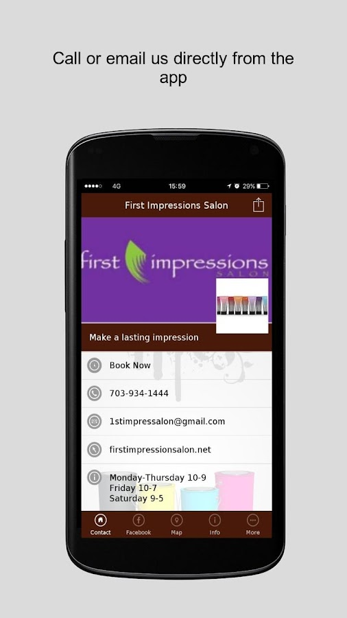 First Impressions Salon- screenshot