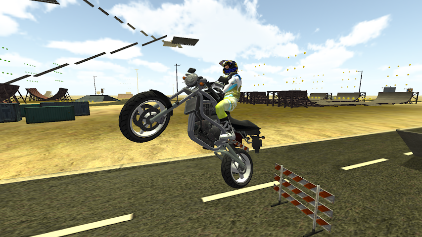 android Freestyle Motorcycle Driver Screenshot 2