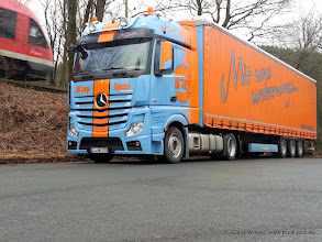 Photo: NEW ACTROS MB Cargo           Click for more photos: www.truck-pics.eu or join me on Facebook: claus wiesel