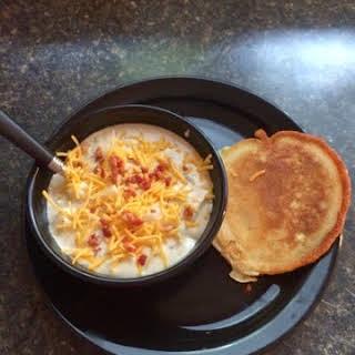 Raffertys Potato Soup.