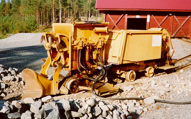 """Photo: Zinkgruvans gruvmuseum. This is the mining museum at Zinkgruvan (which means """"The Zink Mine""""). The mine itself is active, but some of the older stuff is shown on the surface."""