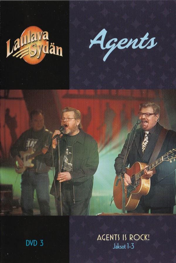 Laulava sydän - Agents Is Rock! 1-3 - booklet