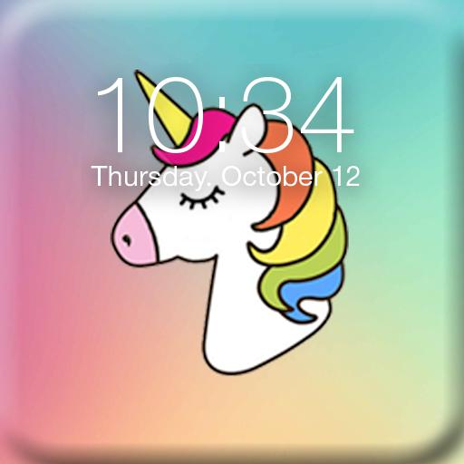 Pony Unicorn Lock Screen