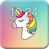 Pony Unicorn Lock Screen