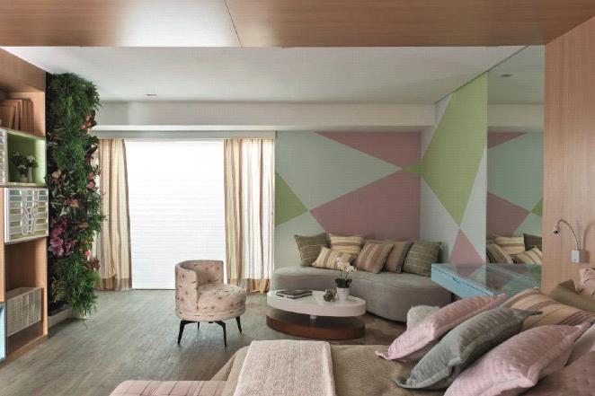 tendências de decoração 2020 - decoradornet - casacor estampa geométrica