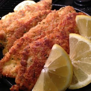 Chicken Milanese - Breaded Chicken Cutlets.