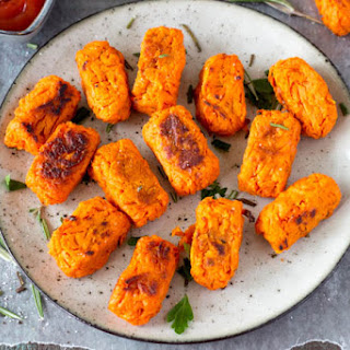 Sweet Potato Tots {with Rosemary and Sea Salt}