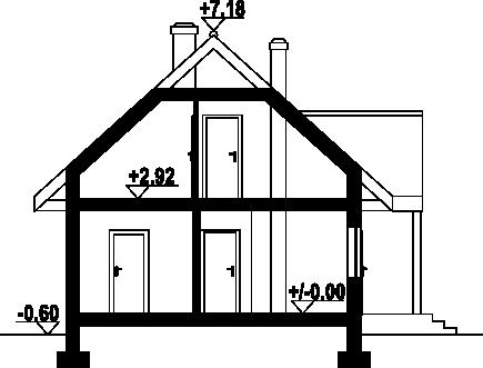 Czocha dws - Przekrój