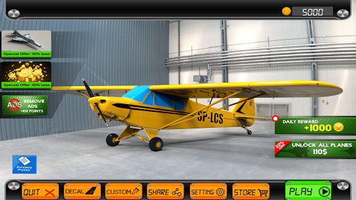 Extreme Airplane simulator 2019 Pilot Flight games 3.9 Pc-softi 6