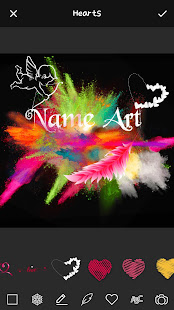 Unduh Smoke Effect Art Name Gratis