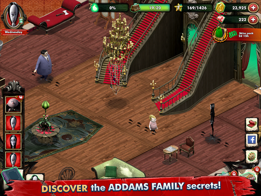 Addams Family: Mystery Mansion - The Horror House! 0.1.9 screenshots 8