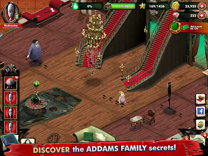 Addams Family: Mystery Mansion – The Horror House! Apk Download For Android and Iphone 8