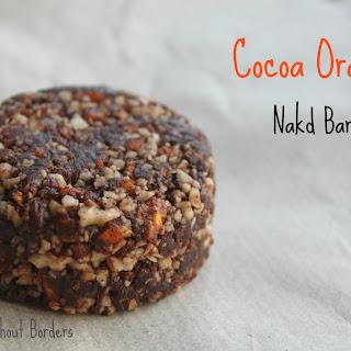 Homemade Nakd Cocoa Orange bars