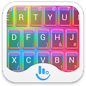 Rainbow Love Keyboard Theme