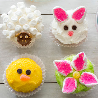 Easy Easter Cupcakes.