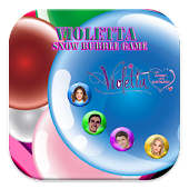 Violetta Snow Bubble Game