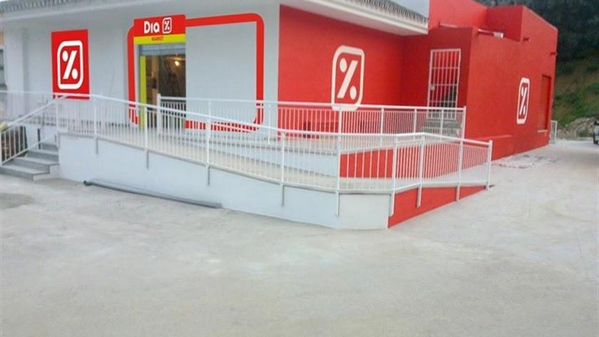 Imagen de archivo de un establecimiento DIA.