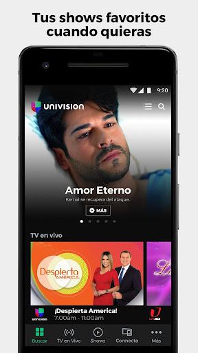 Univision App: Incluido con tu servicio de TV screenshot 1